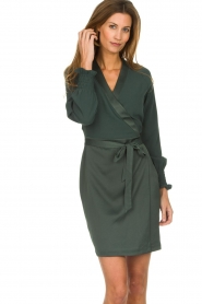 Dante 6 |  Wrap dress Ilya | green  | Picture 2
