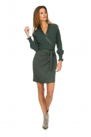 Dante 6 |  Wrap dress Ilya | green  | Picture 3