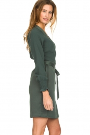Dante 6 |  Wrap dress Ilya | green  | Picture 4