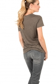 IRO | Linnen T-shirt Clay | grijs  | Afbeelding 5