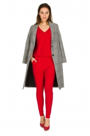By Malene Birger |  Jumpsuit Edia | red  | Picture 3