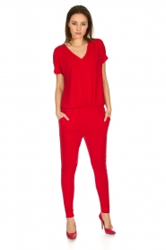 By Malene Birger |  Jumpsuit Edia | red  | Picture 4