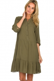 Dante 6 | Dress Lalique | green  | Picture 2