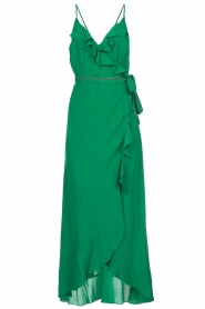 Dante 6 |  Dress with ruffles Isla | green  | Picture 1