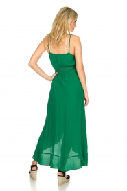 Dante 6 |  Dress with ruffles Isla | green  | Picture 5