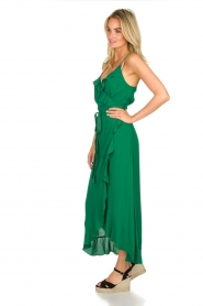 Dante 6 |  Dress with ruffles Isla | green  | Picture 4