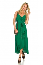 Dante 6 |  Dress with ruffles Isla | green  | Picture 3