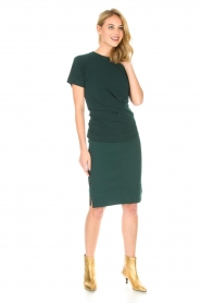 By Malene Birger |  Skirt Nilanos | green  | Picture 3