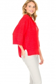 By Malene Birger |  Sweater Wanlay | red  | Picture 7