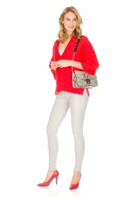 By Malene Birger |  Sweater Wanlay | red  | Picture 3