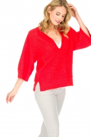 By Malene Birger |  Sweater Wanlay | red  | Picture 6