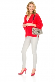 By Malene Birger |  Sweater Wanlay | red  | Picture 4