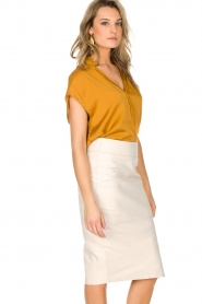 By Malene Birger |  Top Fiolana | gold  | Picture 4