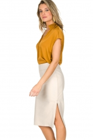 By Malene Birger |  Top Fiolana | gold  | Picture 5