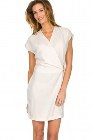 Dante 6 |  Dress with waist belt Lune | natural  | Picture 4