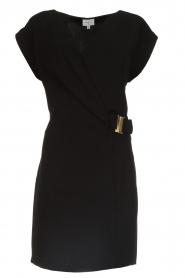 Dante 6 |  Dress with waist belt Une | black  | Picture 1