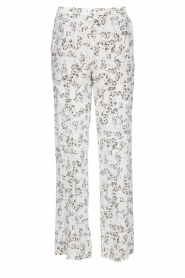 Dante 6 |  Floral trousers Emory | green  | Picture 1