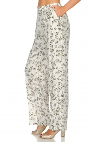 Dante 6 |  Floral trousers Emory | green  | Picture 4