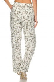 Dante 6 |  Floral trousers Emory | green  | Picture 5