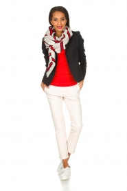 By Malene Birger | Top Newdawn | rood   | Afbeelding 3