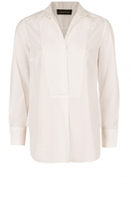 By Malene Birger | Blouse Auva | wit  | Afbeelding 1