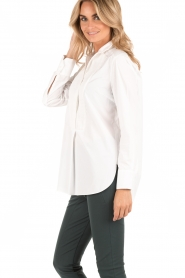 By Malene Birger | Blouse Auva | wit  | Afbeelding 4