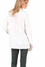 By Malene Birger | Blouse Auva | wit  | Afbeelding 5