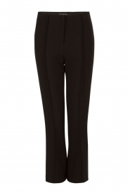 By Malene Birger | Cropped pantalon Scaled | zwart  | Afbeelding 1