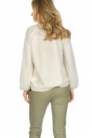 Dante 6 |  Knitted cardigan Sarina | white  | Picture 6