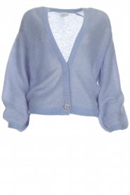 Dante 6 |  Knitted cardigan Sarina | blue  | Picture 1