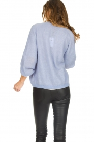Dante 6 |  Knitted cardigan Sarina | blue  | Picture 7