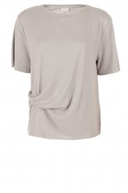 By Malene Birger | T-shirt Mindado | grijs  | Afbeelding 1