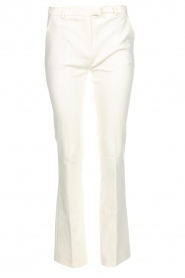 Dante 6 |  Flared trousers Weston | white  | Picture 1