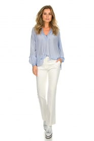 Dante 6 |  Flared trousers Weston | white  | Picture 2