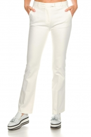 Dante 6 |  Flared trousers Weston | white  | Picture 3
