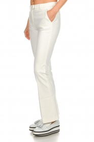 Dante 6 |  Flared trousers Weston | white  | Picture 4