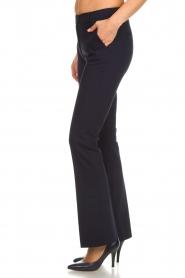 Dante 6 | Flared pantalon Weston | blauw  | Afbeelding 4