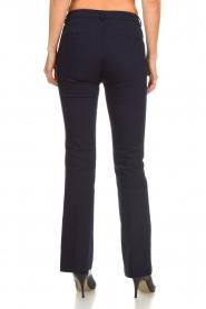 Dante 6 | Flared pantalon Weston | blauw  | Afbeelding 5