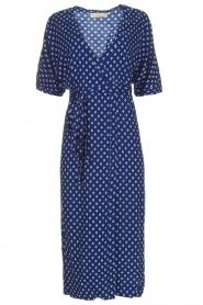 BEACHGOLD |  Wrap dress Olivia | blue  | Picture 1