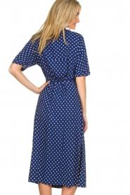 BEACHGOLD |  Wrap dress Olivia | blue  | Picture 6