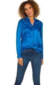 Dante 6 | Blouse Famke | blue  | Picture 2
