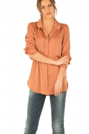 By Malene Birger |  Blouse Bianka | Orange  | Picture 2