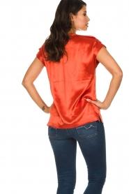 Dante 6 |  Satin top Yila | orange  | Picture 5