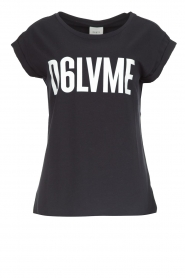 Dante 6 | T-shirt Love me | zwart  | Afbeelding 1
