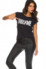 Dante 6 | T-shirt Love me | zwart  | Afbeelding 2
