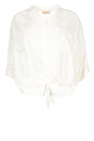 BEACHGOLD | Blouse Elliot | wit  | Afbeelding 1