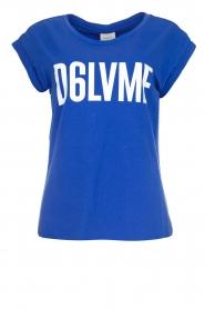 Dante 6 | T-shirt Love me | blauw  | Afbeelding 1