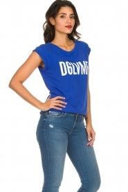 Dante 6 | T-shirt Love me | blauw  | Afbeelding 4