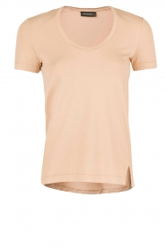 By Malene Birger | T-shirt Felicitas | nude  | Afbeelding 1