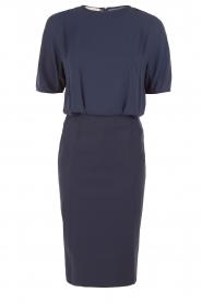 Dress Tehleen | dark blue